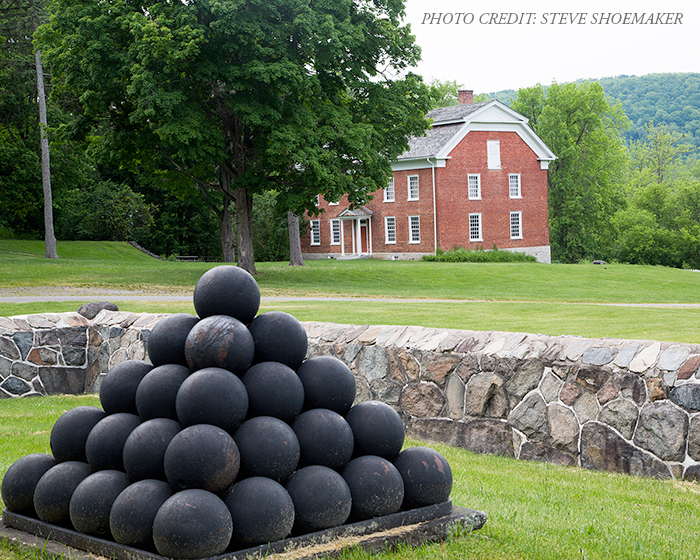 general herkimer home with cannon balls
