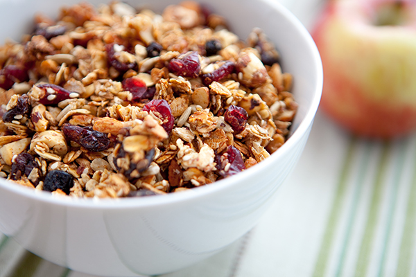 granola at Grand Colonial Bed and Breakfast near Cooperstown, NY