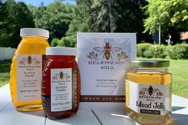 heartsease hill local honey